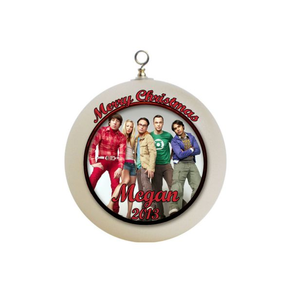 Personalized The Big Bang Theory Christmas Ornament #2